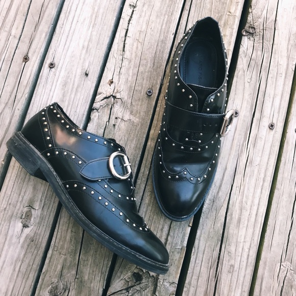 Marc Fisher Shoes - Marc Fisher Bryleigh Studded Oxfords